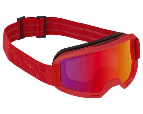 iXS Hack Goggle (Racing Red) (Red Mirror Lens)