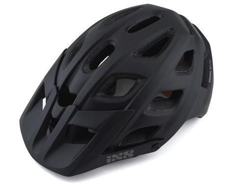 iXS Trail Evo Mountain Bike Helmet (Black) (M/L)