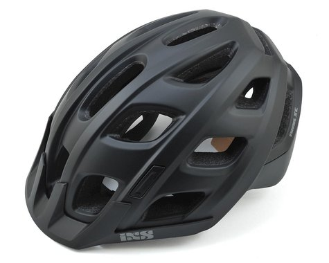 iXS Trail XC Mountain Bike Helmet (Black) (M/L)