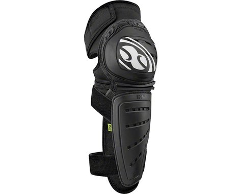 iXS Mallet Knee/Shin Guard (Black) (M)