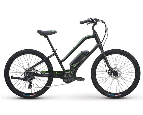 iZip ZUMA 2.0 Step-Thru Cruiser (True Black)