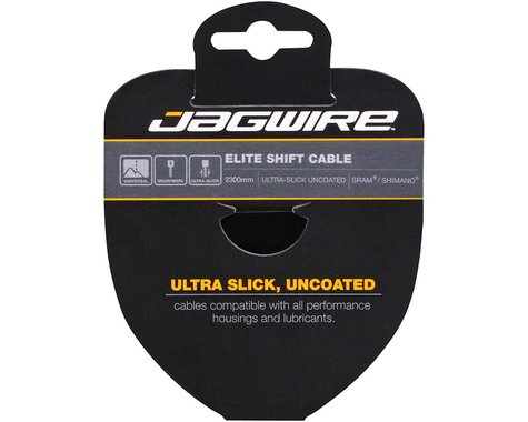 Jagwire Elite Ultra-Slick Derailleur Cable (Stainless) (1.1x2300mm) (1)