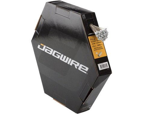 Jagwire Pro Polished Brake Cable (Stainless) (1.5 x 2000mm) (50)