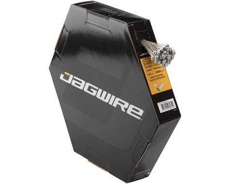 Jagwire Pro Polished Mountain Brake Cable (Stainless) (1.5 x 2000mm) (50)