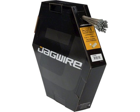 Jagwire Pro Polished Brake Cable (Stainless) (Campy) (1.5 x 1700mm) (50)