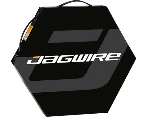 Jagwire 4mm Basics Derailleur Housing 50M File Box (Black)
