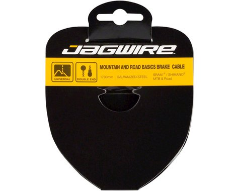 Jagwire Basics Tandem Brake Cable (Galvanized) (1.6 x 2795mm) (1)