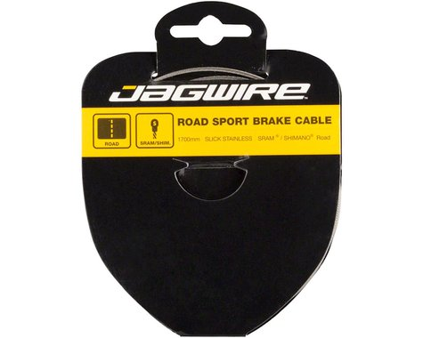 Jagwire Road Sport Tandem Brake Cable (Stainless) (1.5 x 3500mm) (1)
