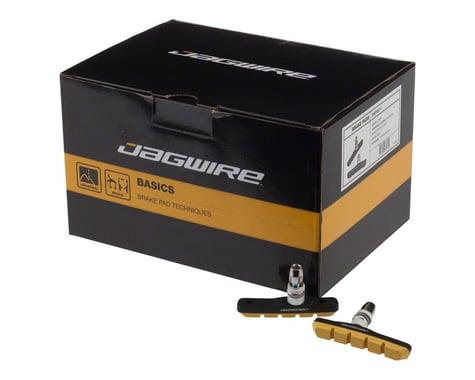 Jagwire Mountain Sport V-Brake Pads (Yellow) (25 Pairs)