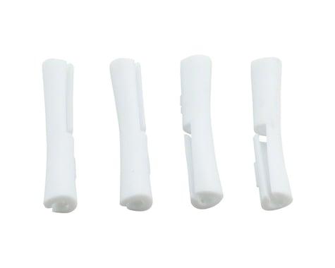 Jagwire Tube Tops 5G Frame Protectors for Brake/Shift Housing (White) (4)