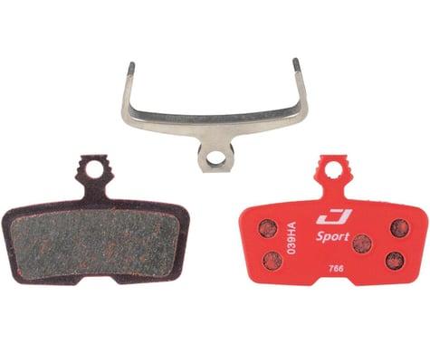 Jagwire Sport Disc Brake Pads (Semi-Metallic) (SRAM Code RSC, R, Guide RE)