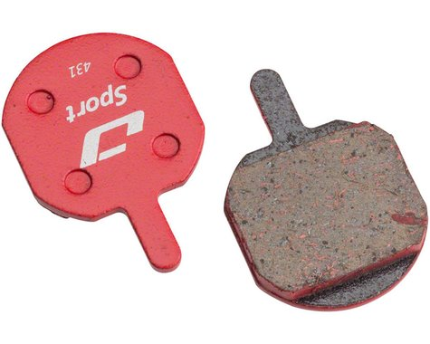 Jagwire Disc Brake Pads (Hayes CX/MX/Sole) (Semi-Metallic)