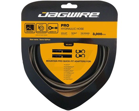 Jagwire Mountain Pro Hydraulic Disc Hose Kit (Carbon Silver) (3000mm)