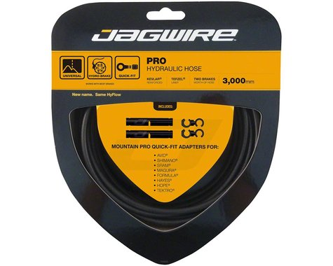 Jagwire Mountain Pro Hydraulic Disc Hose Kit (Stealth Black) (3000mm)