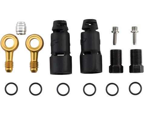 Jagwire Pro Disc Brake Hydraulic Hose Quick-Fit Adapters (SRAM/Avid)