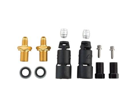 Jagwire Pro Disc Brake Hydraulic Hose Quick-Fit Adapters (SRAM/Avid)