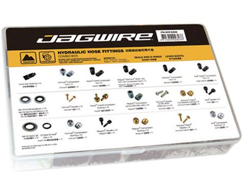 Jagwire Mountain Sport Hydraulic Hose Fittings Combo Box (1)