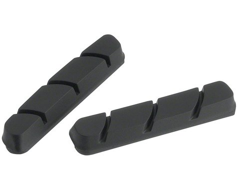 Jagwire Road Pro C Brake Pad Inserts Campagnolo Friction Fit, Black