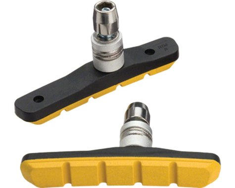 Jagwire Mountain Sport V-Brake Pads (Yellow) (Pair)