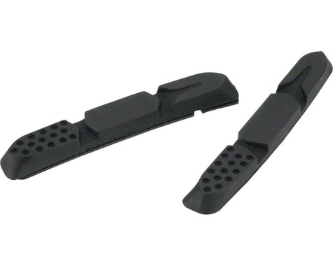Jagwire Mountain Pro V-Brake Pad Replacement Inserts (Black) (Pair)
