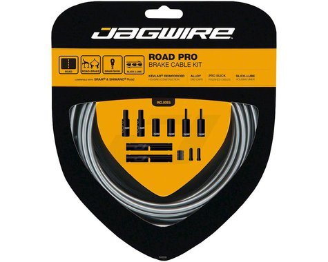 Jagwire Pro Brake Cable Kit (Ice Grey) (Stainless) (1500/2800mm) (2)