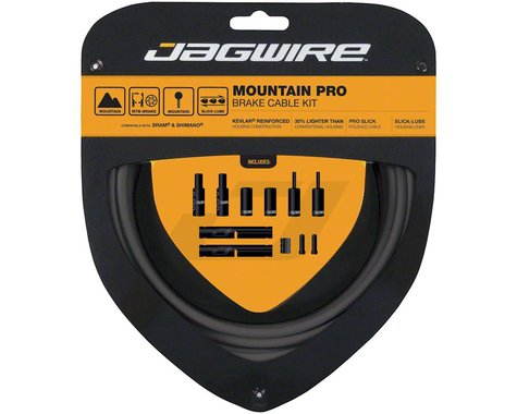 Jagwire Mountain Pro Brake Cable Kit (Ice Grey) (Stainless) (1350/2350mm) (2)