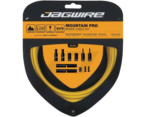 Jagwire Pro Brake Cable Kit (Yellow) (Stainless) (1500/2800mm) (2)