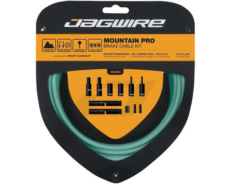 Jagwire Pro Brake Cable Kit (Bianchi Celeste) (Stainless) (1500/2800mm) (2)