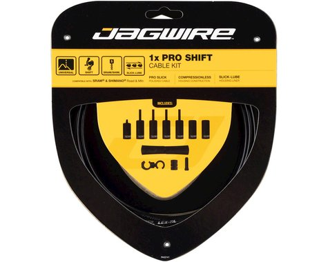 Jagwire 1x Pro Shift Kit Road/Mountain SRAM/Shimano (Black)