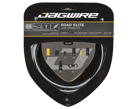 Jagwire Road Elite Link Brake Cable Kit (Black) (Teflon) (1350/2350mm) (2)