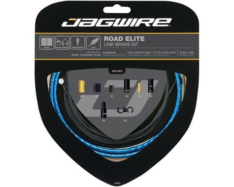 Jagwire Elite Link Brake Cable Kit (Blue) (Teflon) (1350/2350mm) (2)