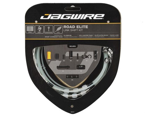 Jagwire Road Elite Link Shift Cable Kit (Silver)