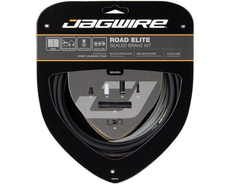 Jagwire Road Elite Sealed Brake Cable Kit (Black) (SRAM/Shimano)