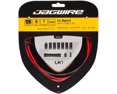 Jagwire 1x Sport Shift Cable Kit (Red) (SRAM/Shimano)