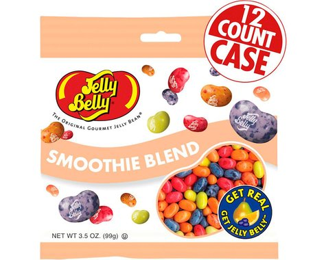 Jelly Belly Jelly Beans (Smoothie Blend) (12 3.5oz Packages)