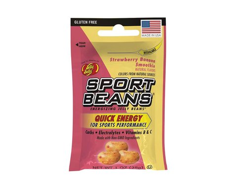 Jelly Belly Sport Beans (Strawberry Banana Smoothie) (24 1.0oz Packages)