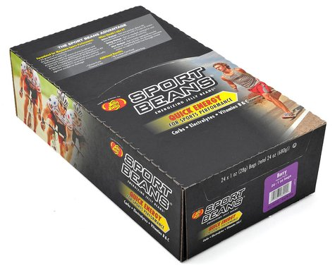 Jelly Belly Sport Beans (Berry) (24 1.0oz Packages)