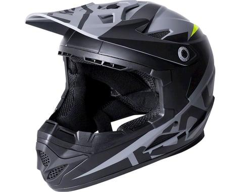 Kali Zoka Youth Helmet (Dual Solid Matte Black/Lime) (Kids L)