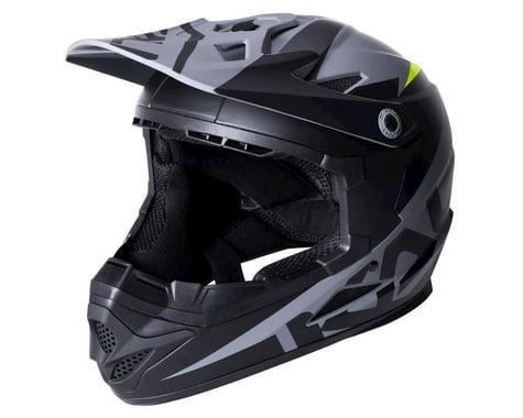 Kali Zoka Helmet (Dual Solid Matte Black/Lime) (S)