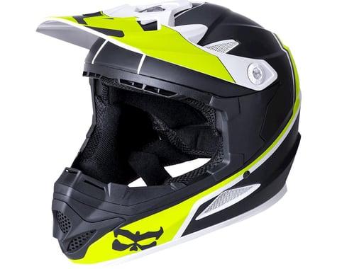 Kali Zoka Helmet (Dual Block Matte Lime)