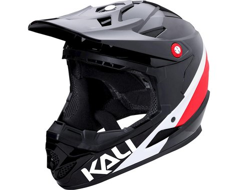 Kali Zoka Switchback Youth Helmet (Gloss Red/White/Blue) (Kids M)