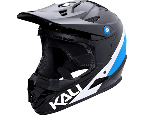 Kali Zoka Helmet (Gloss Black/Blue/White)
