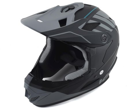 Kali Zoka Youth Helmet (Eon Matte Black/Grey) (YM)