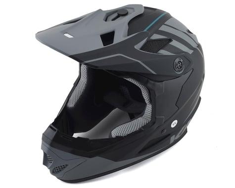 Kali Zoka Full-Face Helmet (Matte Black/Grey) (XL)