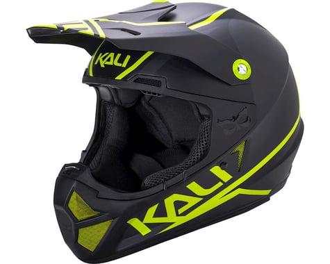 Kali Shiva 2.0 Helmet (Dual Matte Black/Lime) (L)