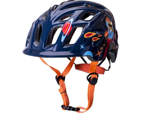 Kali Chakra Child Helmet (Galaxy Blue/Orange) (One Size)