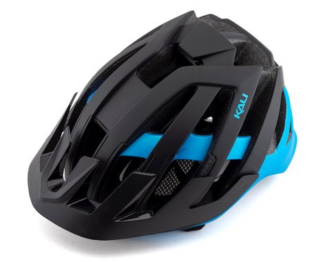 Kali Interceptor Helmet (Dual Matte Black/Blue) (L/XL)