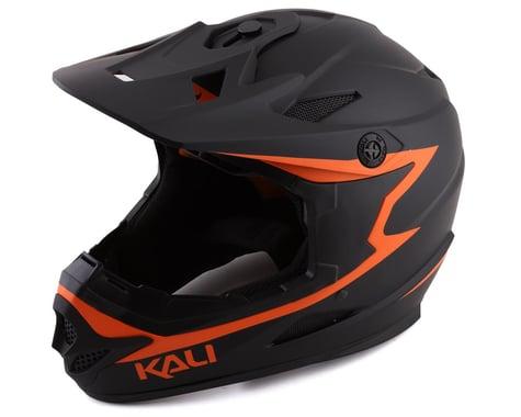 Kali Zoka Reckoning Full Face Helmet (Matte Black /Orange)