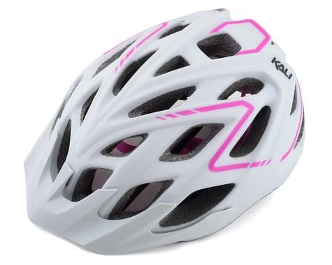 Kali Chakra Plus Reflex Helmet (Matte White/Pink) (L/XL)