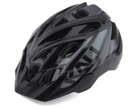Kali Chakra Youth Snap Helmet (Gloss Black/Gray) (Universal Youth)